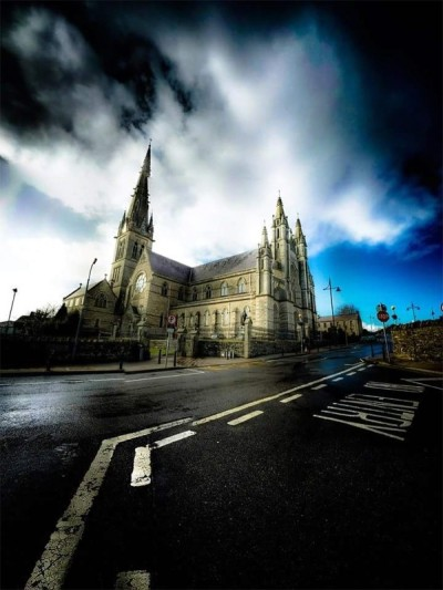 Timber treatment to roof and seating of St Eunan Cathedral, Letterkenny, Co Donegal, by Tirconaill Damp Proofing, Ireland