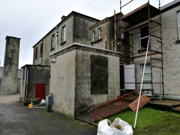 Ursuline College, Sligo. Dry rot treatment  by Tirconaill Damp Proofing, Ireland